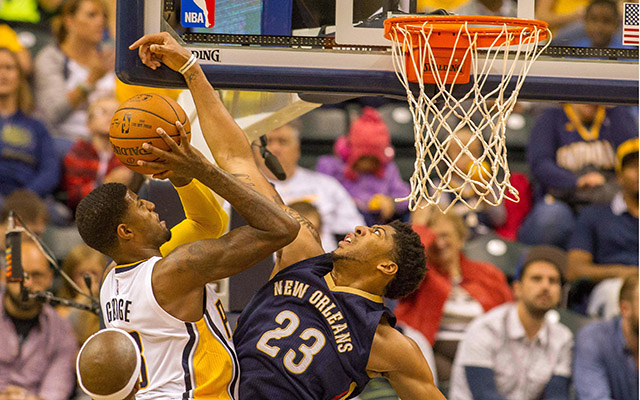 NBA: Preseason-New Orleans Pelicans at Indiana Pacers