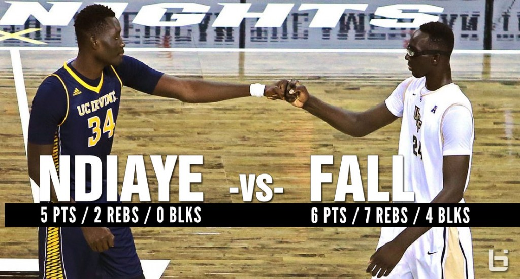 Ndiaye vs Fall: The Battle of 7'6 College Players Wasn't As Epic As We Hoped