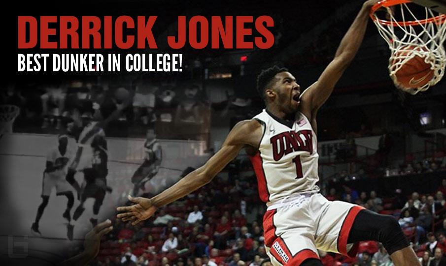 Derrick Jones Showing Why He's The Best Dunker In College!