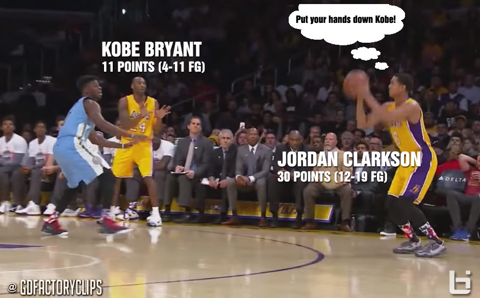 Jordan Clarkson Matches Career-High In Points (30) vs Nuggets