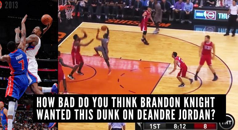 Brandon Knight Had A Career-Night: 37pts + 1 Revenge Attempt on DeAndre Jordan