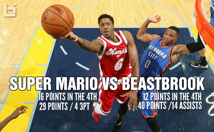 Beastbrook vs Super Mario 4th Quarter Duel