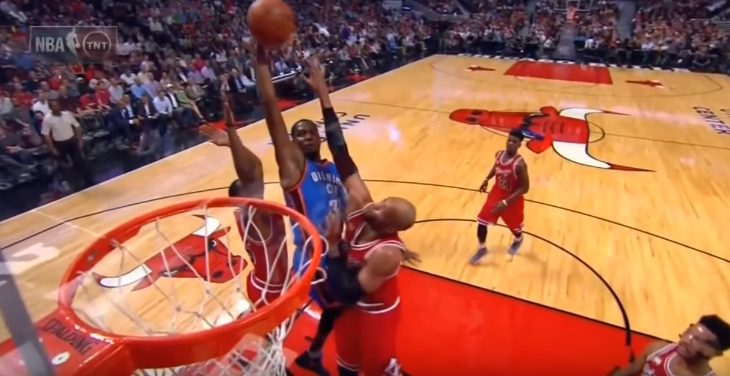 Kevin Durant Misses a Dunk   Thunder vs Bulls   November 5  2015   2015 16 NBA Season   YouTube