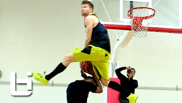 Lipek & Chris Staples Would Win ANY Dunk Contest With These CRAZY Dunks!