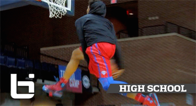 Miles Bridges Brings Freak Athleticism To Michigan State! Ballislife Official Junior Mixtape!