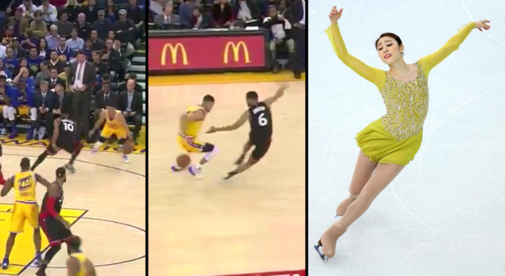 Steph Curry Scores 37, Puts DeRozan and Joseph on Skates