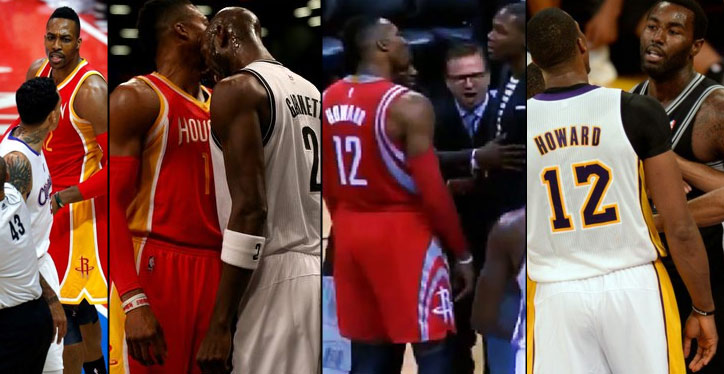 Dwight Howard Vs NBA Players & Fans