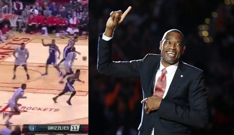 Tony Allen Is Still Owning Dwight Howard, Does the Mutombo Finger Wag After Block