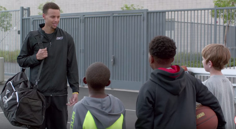 Footlocker Week of Greatness Ad Feat Steph Curry & Some NBA Media Ready Kids