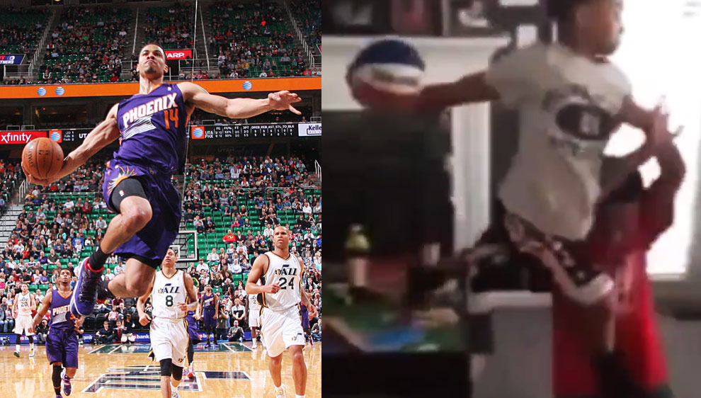 Little Kid With the Nasty Gerald Green Poster Dunk!