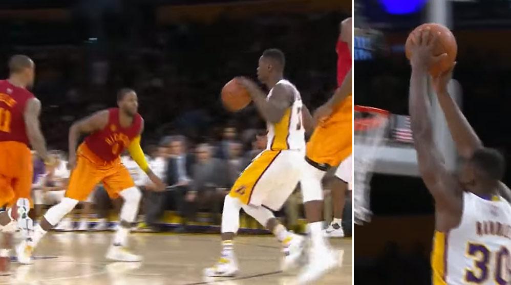 Julius Randle Coast-to-Coast Dunk vs the Pacers