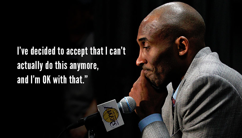 The Day Kobe Bryant Announced His Retirement