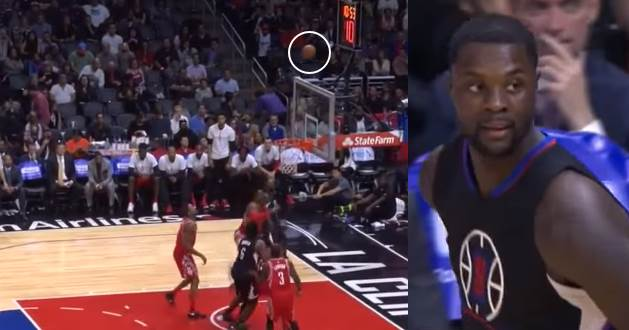 Lance Stephenson With the Awful Over The Backboard Shot