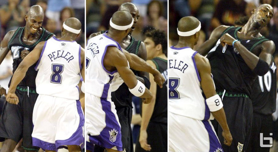 Remembering When Kevin Garnett Was Punched By Anthony Peeler In GM6 & Went To War In GM7 Of The 2004 WCSF