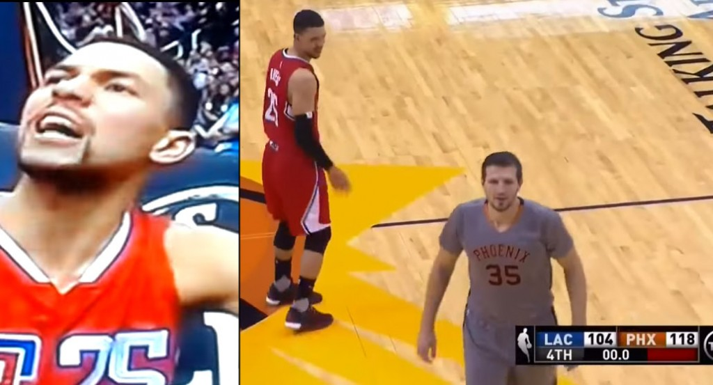 Austin Rivers Yells At Refs, Lectures Mirza Teletovic For Shooting At End Of The Game