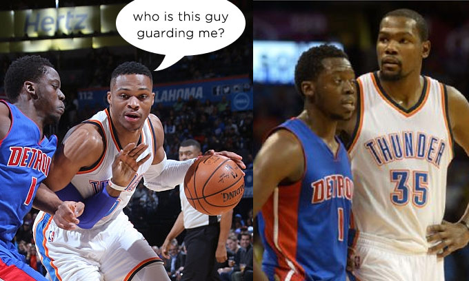 """Who?"" Westbrook & Durant Showed No Love For Former Teammate Reggie Jackson"