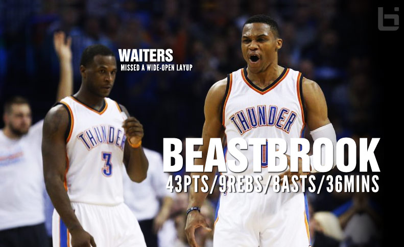 Beastbrook Went Off On The Pelicans, Dion Waiters Had A Hard Time Scoring By Himself