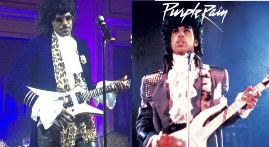 Watch King James Dress As Prince & Sing 'Purple Rain' On Halloween
