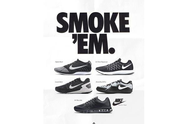 caa434fc1610 Modern Day Kicks On Vintage Nike Ads - Ballislife.com