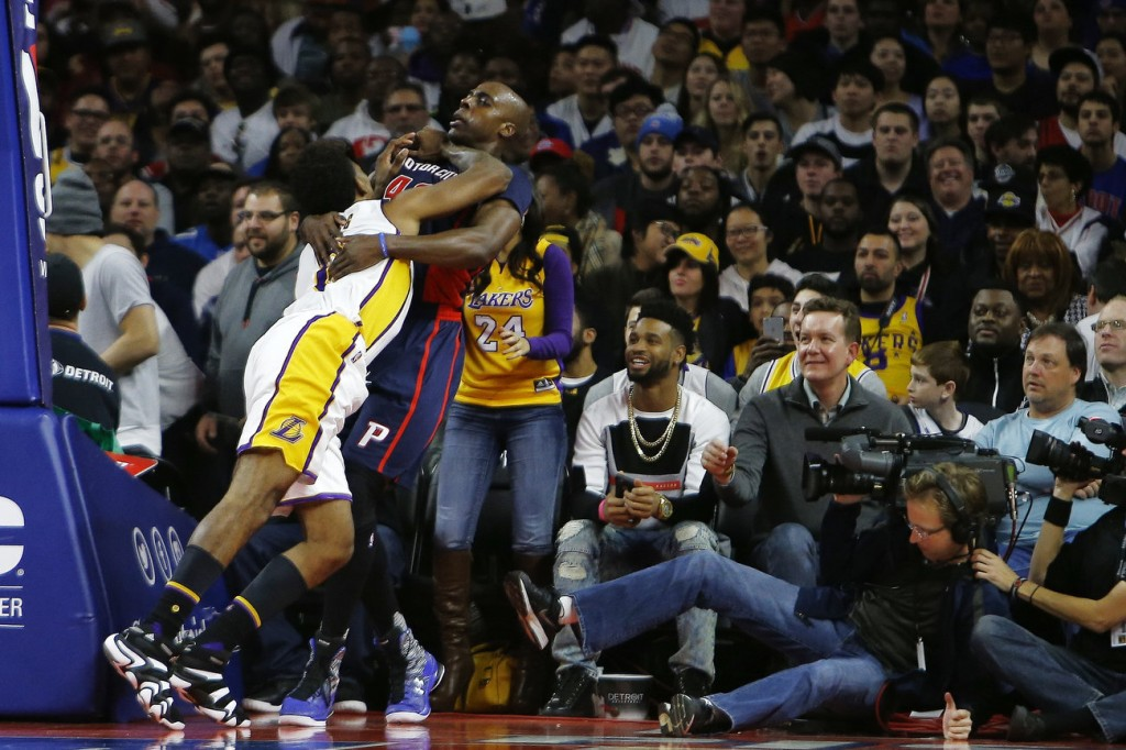Nick Young Gets Ejected For Going After Anthony Tolliver After A Flagrant Foul