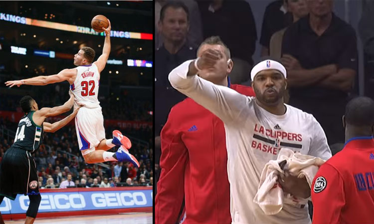 Josh Smith Stirs The Pot After Blake Griffin Dunks vs the Bucks