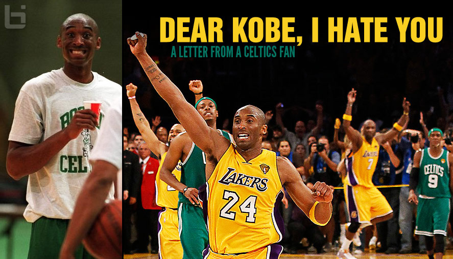 Dear Kobe: A Letter From A Celtics Fan Who Hates You