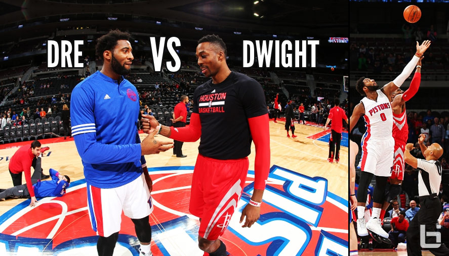 Andre Drummond Wins Duel With Dwight Howard