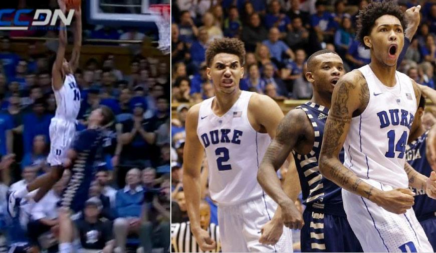 Duke's Brandon Ingram Destroys GASO Defender in 34 Point Beatdown