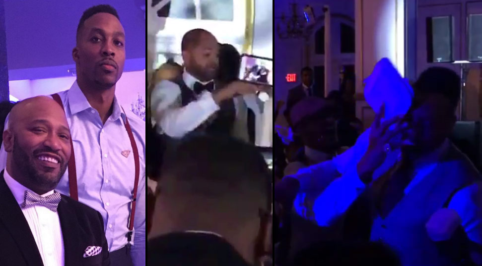 Rockets Interim Coach J.B Bickerstaff Rapping/Dancing at Dwight Howard's Birthday Party