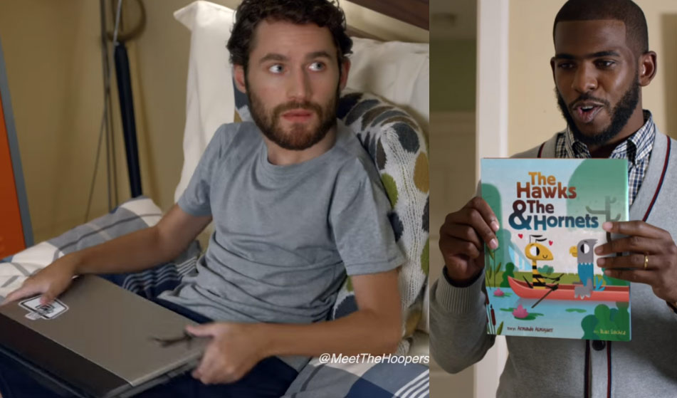 Chris Paul Gives Son, Kevin Love, The Sex Talk In Hilarious StateFarm Ad: Meet The Hoopers