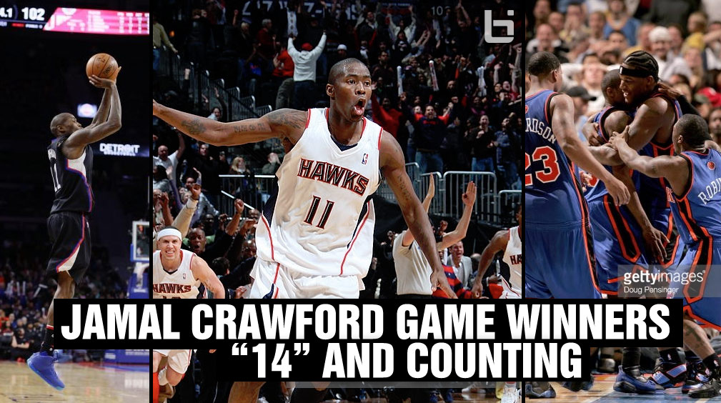 "Jamal Crawford With Another Game Winner, ""14"" & Counting"