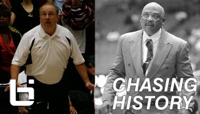 Ed Azzam (left) of L.A. Westchester and retired coach Willie West of L.A. Crenshaw has combined to win 14 CIF state titles. Azzam has now surpassed West as the all-time coaching wins leader in L.A. City Section history.