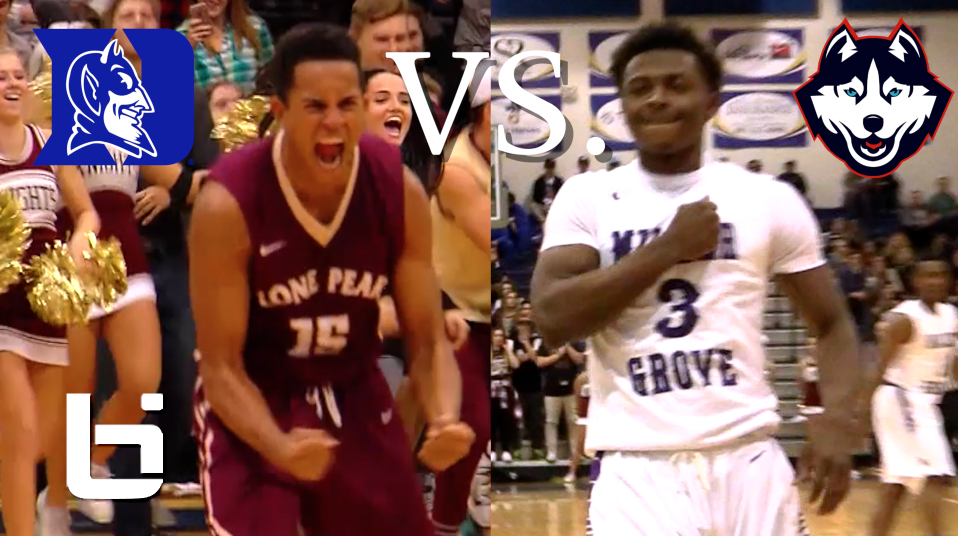 SCORING BATTLE Frank Jackson(Duke) Vs. Alterique Gilbert(UCONN) RAW FOOTAGE HIGLIGHTS