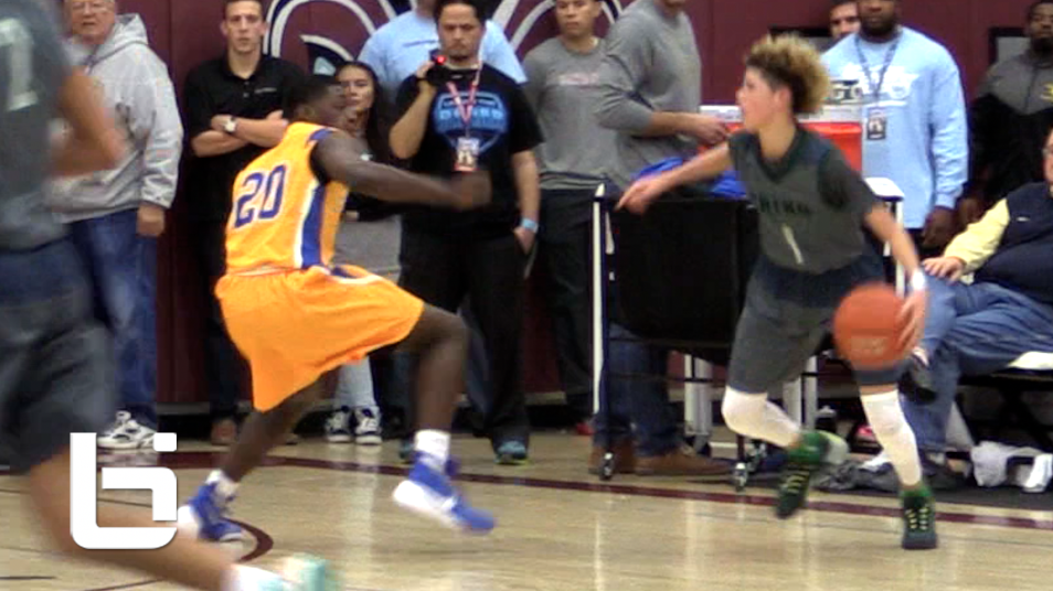 14 Year Old LaMelo Ball Shines In Chino Hills Win, Shows Off DEEP RANGE