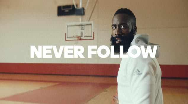 adidas | Creators Never Follow Ft. James Harden