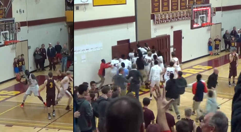 "HS Player Oman ""Oh Man"" Oman Hits A Full-Court Game-Winner"