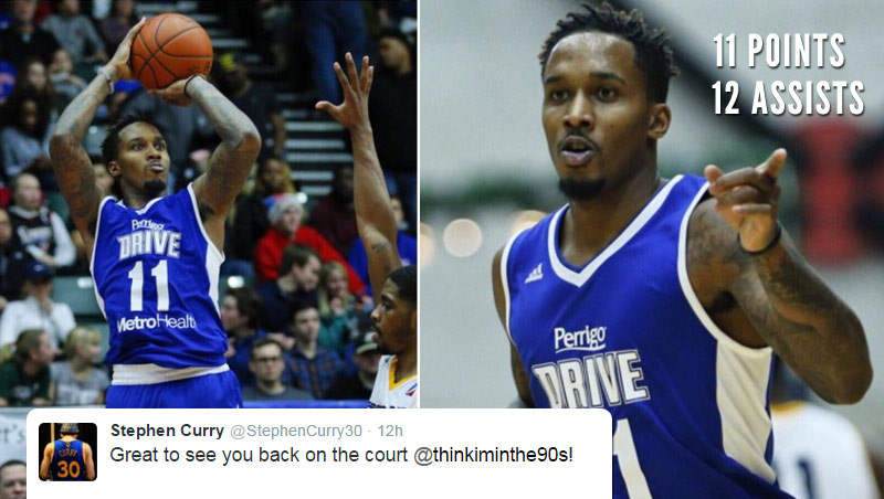 Brandon Jennings Is Back! Looked Good During His D-League Rehab Game