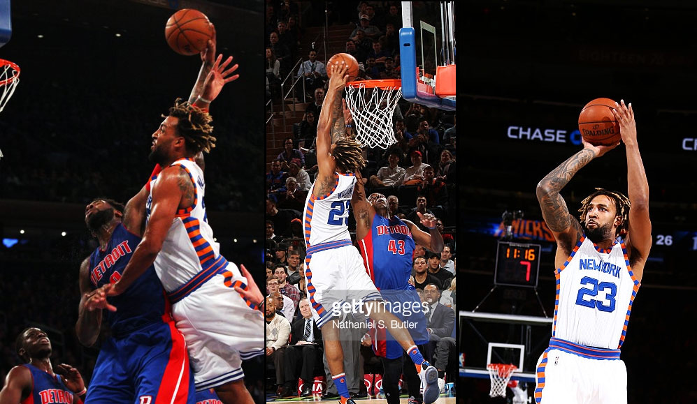 Derrick Williams Explodes For 16 4th Quarter Points As Porzingis Sits Out The Quarter