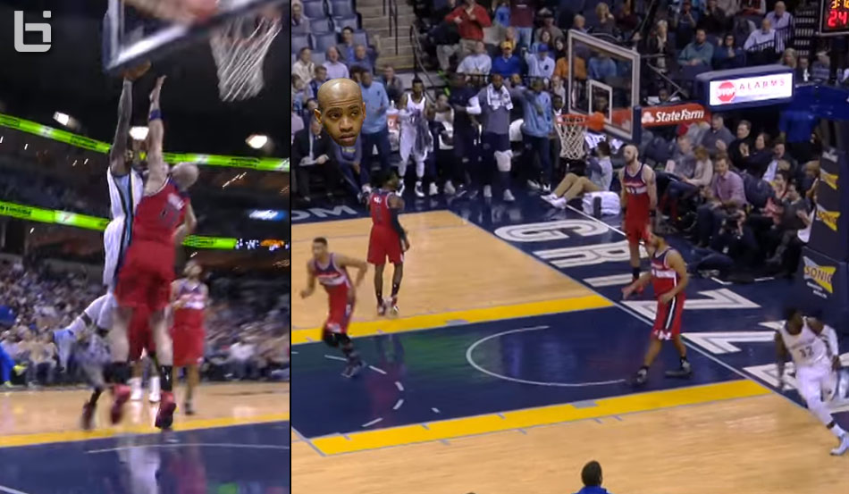 Jeff Green Posterizes Marcin Gortat, Teammate Vince Carter Isn't Impressed