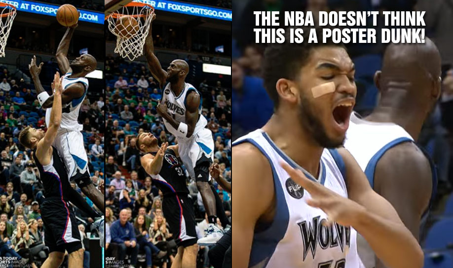 39 Year Old Kevin Garnett POSTERIZED Blake Griffin But The NBA Doesn't Think So