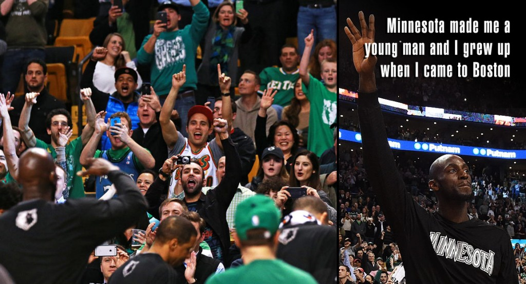Boston Honors Kevin Garnett With A Standing Ovation & His Favorite Victory Cigar Video