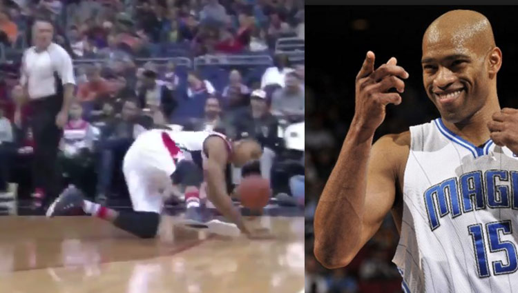 Otto Porter Broke His Own Ankles But Not As Bad As Vince Carter Once Did