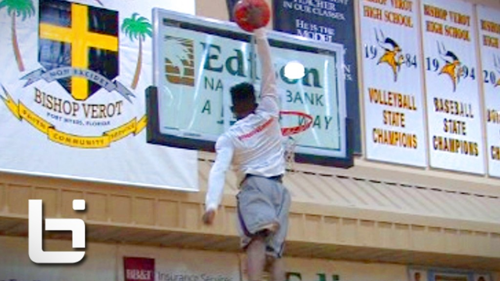 Kwe Parker WINS City of Palms Dunk Contest with PERFECT SCORE!