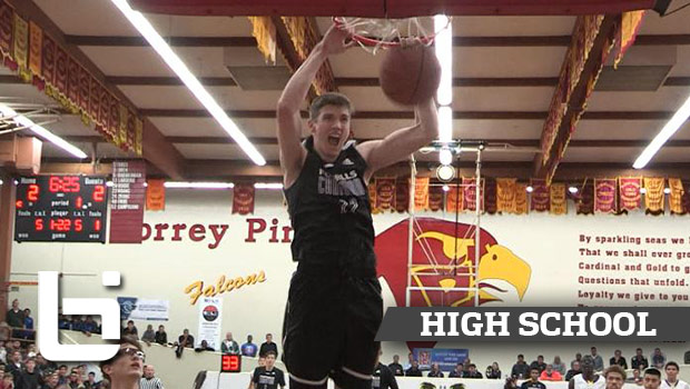 UCLA Commit TJ Leaf Scores 27 Pts in 3 Quarters in Quarterfinal Game vs St Augustine