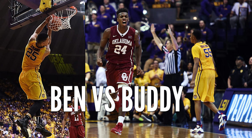Buddy Hield Outplays Ben Simmons, Catches Fire in 2nd Half Vs LSU