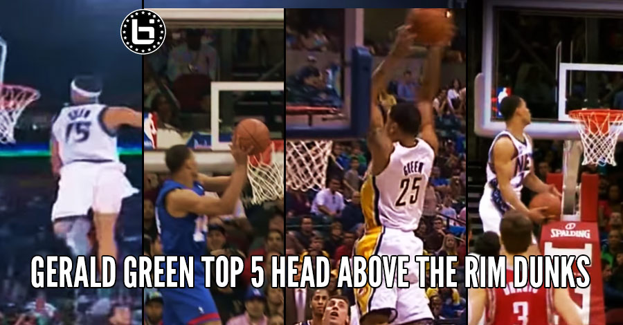 Gerald Green's Top 5 Head Above The Rim Dunks