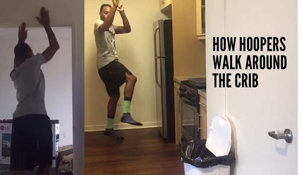 How Hoopers Walk Around The Crib…