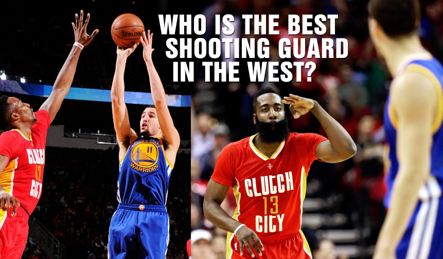 Klay Thompson vs James Harden Duel in H-Town