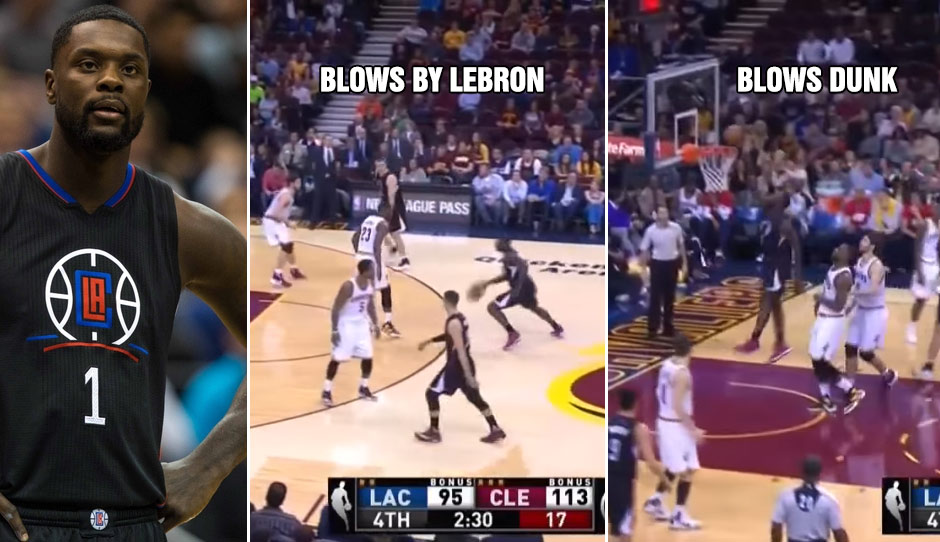 Lance Stephenson Blows By LeBron Then Blows The Dunk