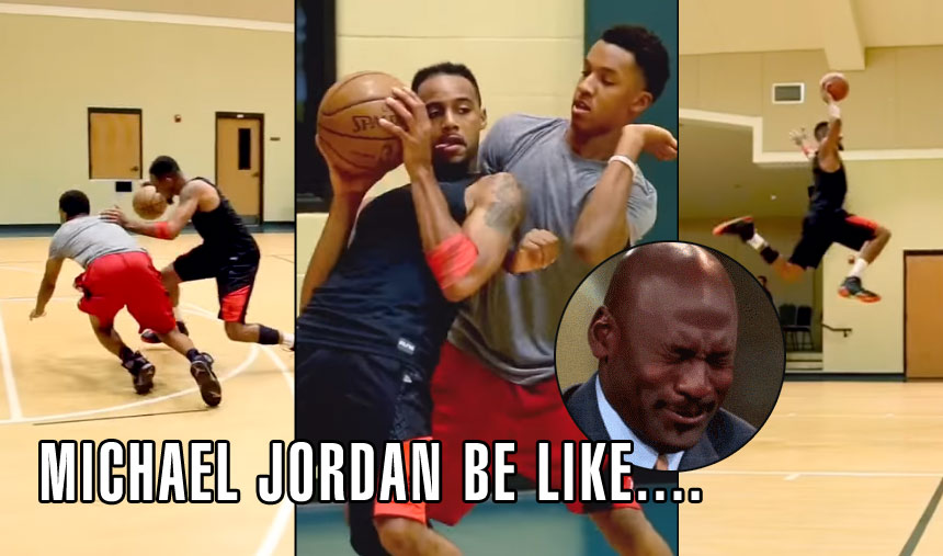 "Master NBA Impersonator Finally Does A ""MJ Be Like…"" Video"
